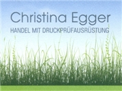 Christina Egger -  Handel mit Druckprüfausrüstung