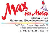 Martin Bruch - Max der Maler