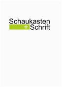Renate Koerber - Schaukasten+Schrift