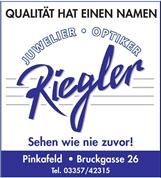Mag. Josef Riegler - Augenoptik-Kontaktlinsenoptiker-Hörakustiker-Juwelier-Optometrist