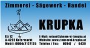 Roland Krupka -  Zimmerei-Sägewerk-Handel