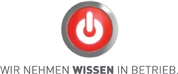 bild ubit: wir nehmen wissen in betrieb translated to we consider knowledge in business