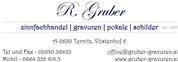 Romana Gruber -  Zinnfachhandel - Gravuren - Pokale - Schilder