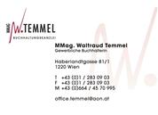 Mag. Waltraud Temmel - Buchhaltungskanzlei MMag. Waltraud Temmel