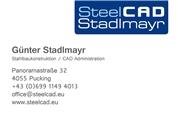 Günter Stadlmayr - SteelCAD Stadlmayr