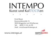Ernst Bauer -  INTEMPO Kunst- und KulTOURen