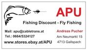 Andreas Pucher - APU - Handel mit Fliegenfischer Artikeln