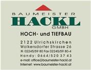 Baumeister Hackl GmbH - BAUMEISTER HACKL GMBH