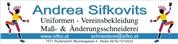 Andrea Sifkovits - Maß-, Uniformen und Änderungsschneiderei für Damen und Herren