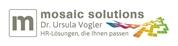 Dr. Ursula Vogler -  Mosaic Solutions - HR-Lösungen, die Ihnen passen
