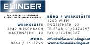 Reinhard Edinger - Schlosserei