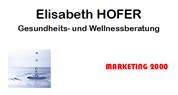 Elisabeth Hofer - MARKETING 2000