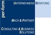 Mag. PhDr. Dr.phil. Engelbert Mach, MSC MAS MBA -  per-form Unternehmensberatung