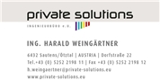 PRIVATE SOLUTIONS Ingenieurbüro e.U. -  PRIVATE SOLUTIONS