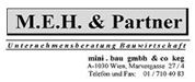 mini.bau gmbh & Co KG - M.E.H. & Partner Unternehmensberatung Bauwirtschaft, mini . bau  gmbh  &  co  kg