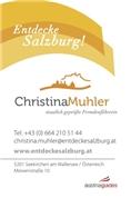 Christina Muhler - Fremdenführerin Salzburg, Tourist Guide, Stadtführung Salzburg, Guided City Tour Salzburg