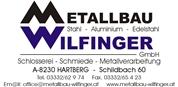 Metallbau Wilfinger GmbH