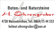 Helmut Ehrengruber - Beton- und Natursteine