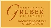 Johann Gruber - Wirtshaus Gruber Weitenegg