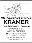 Ing. Michael Kramer - METALLBAUSERVICE KRAMER