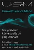 Mario Benigni - USM UmweltServiceMario