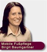 Birgit Baumgartner - Mobile Fußpflege <br>Birgit Baumgartner