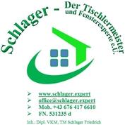 Friedrich Gerhard Schlager - Fenster, Türen, Sonnenschutz, Insektenschutz, Möbelfachhandel, Küchen, Badezimmer