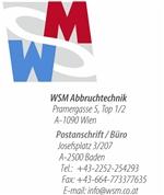 W.S.M. Handelsgesellschaft m.b.H. - WSM Abbruchtechnik