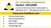 Herbert Höllerer - Photovoltaik und Elektrotechnik