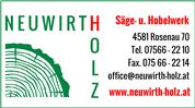 Willibald Neuwirth - Sägewerk