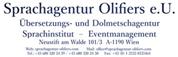 Sprachagentur Olifiers e.U. - Übersetzungsbüro und Dolmetschagentur – Sprachinstitut  –  Eventmanagement