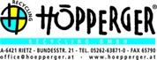 Höpperger Recycling GmbH - Sammlung und Sortierung von Kunststoff und Metall Verpackungen; Recycling