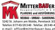 Mitterbauer Baugesellschaft mbH - Mitterbauer Baugesellschaft mbH