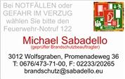 Michael Georg Sabadello - Selbständiger Brandschutzbeauftragter