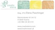 Mag. (FH) Elena Paschinger -  Creativelena - Mag. (FH) Elena Paschinger