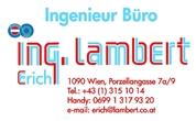 Ing. Erich Lambert -  Ingenieurbüro für Installationstechnik