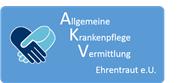 Allgemeine Krankenpflege Vermittlung Ehrentraut e.U. Logo