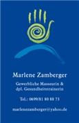 Marlene Sieglinde Platzer -  Massage