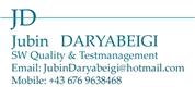 Jubin Daryabeigi - SW Quality & Testmanagement