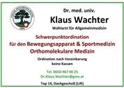 Dr.med. Klaus Thomas Kurt Wachter - Schwerpunktpraxis für Orthomolekulare Medizin
