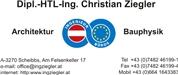 Dipl.-HTL-Ing. Christian Ziegler - Architektur  Ingenieurbüro  Bauphysik