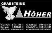 G. Höher Steinmetzbetrieb GesmbH & Co KG - G.Höher Steinmetzbetrieb GesmbH & Co.KG.