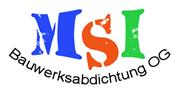 MSI Bauwerksabdichtung OG -  Bauwerksabdichter, Schwarzdecker