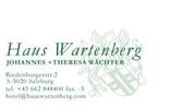 Johannes Wächter - Haus Wartenberg