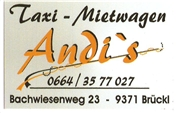 Andreas Jank - Andi' s Taxi & Mietwagen