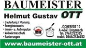Baumeister Helmut Gustav OTT e.U. - Baumeister Helmut Gustav OTT e. U.