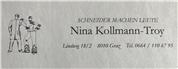 Nina Kollmann-Troy -  Schneider machen Leute