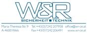 W & R Sicherheitstechnik GmbH -  Ihr professioneller Anbieter von Sicherheitstechnik
