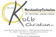 Dipl.-Ing. Christian Kolb - Energetische Psychologie (Meridianklopftechniken - EFT)