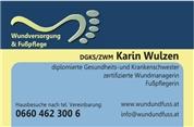 Karin Linda Wulzen -  Freiberufliche Dipl. Krankenschwester, Wundmanager, Fußpfleger